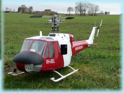Scale Helicopter building service